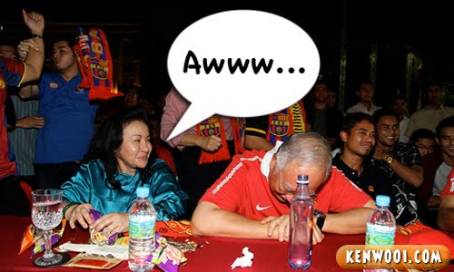 najib support manchester united