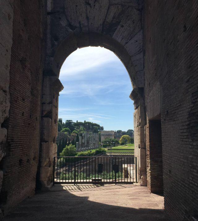 Mit Kindern im Colosseum in Rom - Rom mit Kindern - Frühstück bei Emma