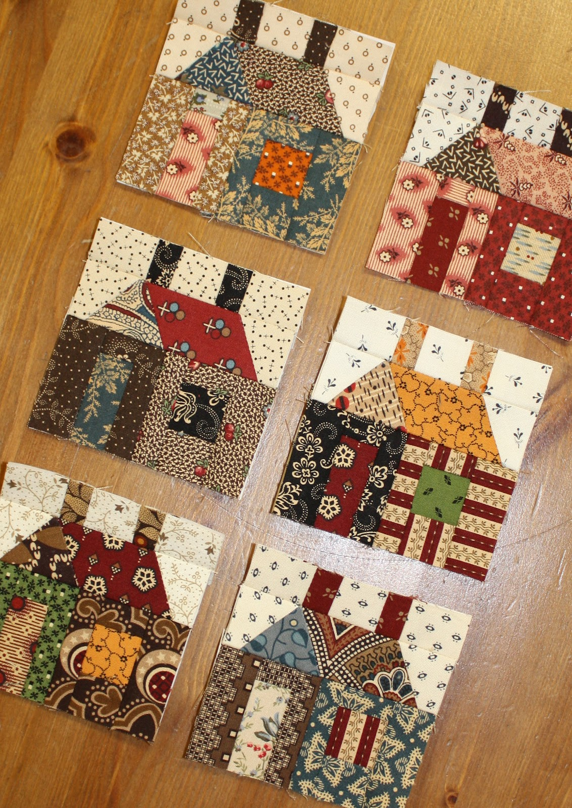 Temecula quilt company for House pattern