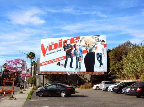 Christina Aguilera Voice season 8 billboard