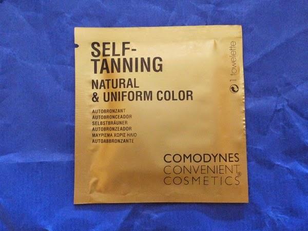 Self tanning autobronceador 1 toallitas (Comodynes)