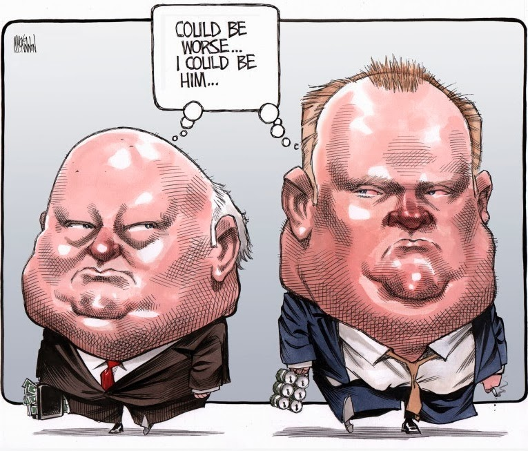 Bruce MacKinnon: Mike Duffy & Rob Ford.