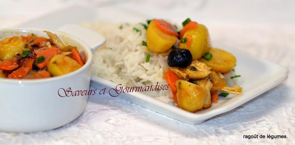 Ragoût de légumes au Basmati.