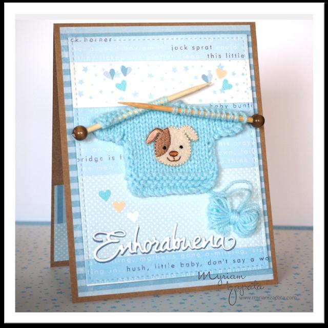 tarjeta bebé niño