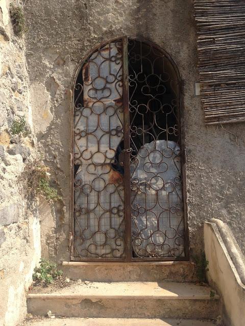 Old gateway, Positano, Amalfi Coast, Italy