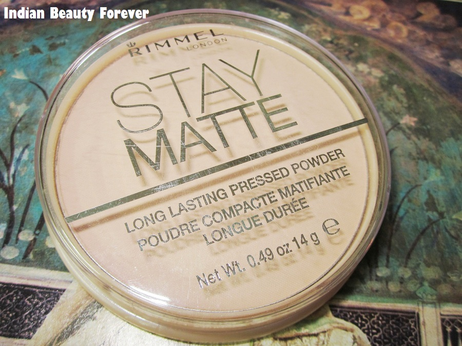 Rimmel London Stay Matte Compact Pressed Powder Review