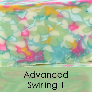 Online Advanced Swirling 1 Soap Class