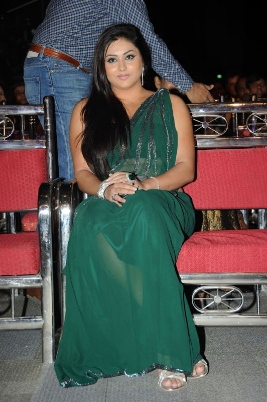 Namitha at Cinemaa Awards  Hot Saree Stills Photogallery glamour images