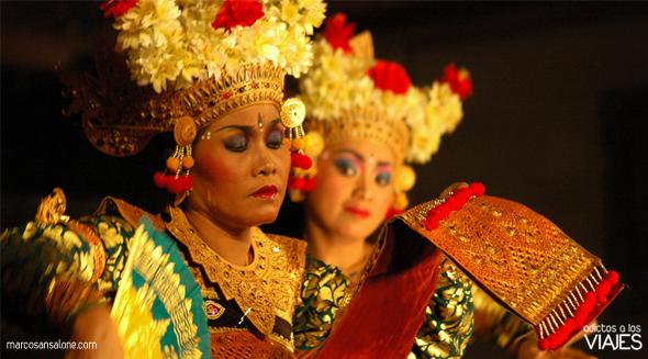 Danza Larong, Palacio de Ubud indonesia