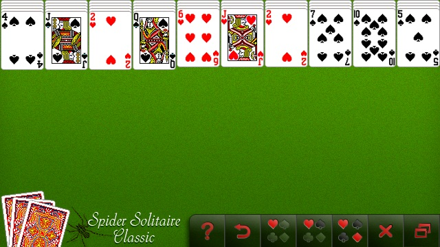 classic spider solitaire download