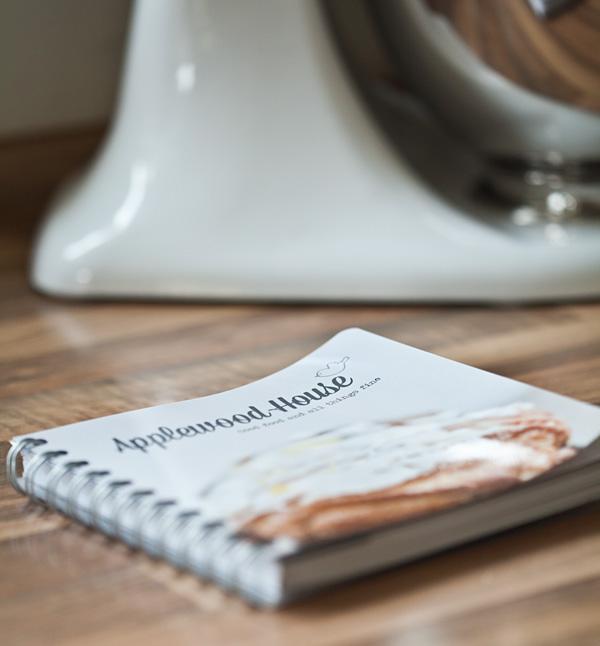 Applewood House Notizbuch Rezepte selbstgestalten