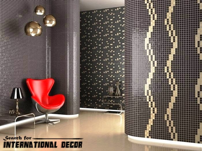 mosaic tile, mosaic tiles, black mosaic tiles