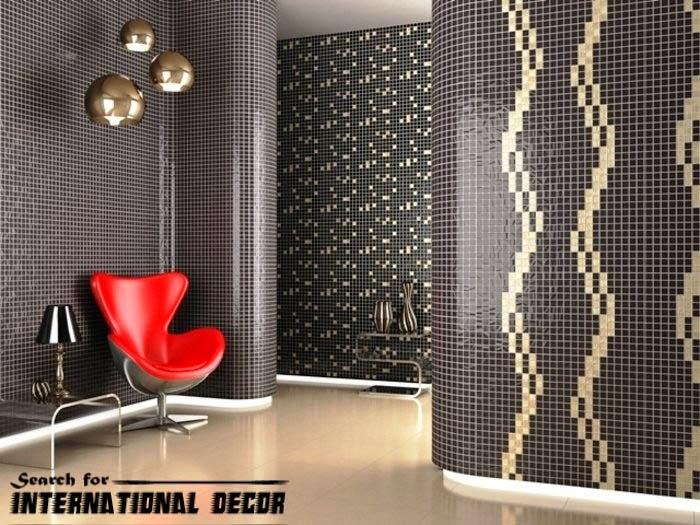 mosaic tile, mosaic tiles, black mosaic tiles