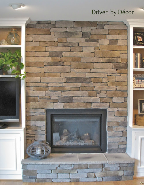 Stone Veneer Fireplace : Building a stone veneer fireplace tips for design