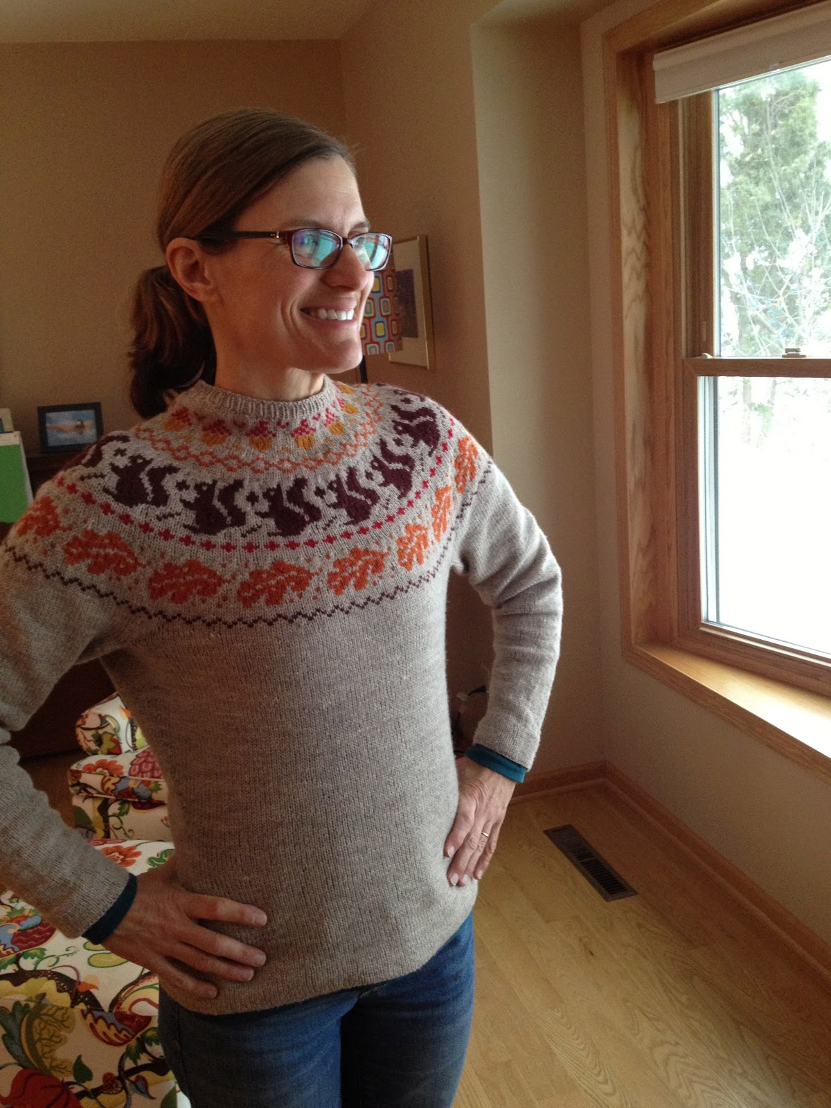 Susan b anderson craftsys custom yoke sweater class by amy detjen i highly recommend this class for any interested colorwork yoke sweater knitters out there bankloansurffo Images