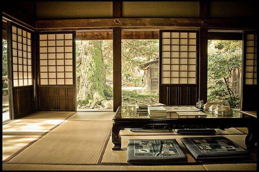 Apuntes de cultura japonesa - Casa tradicional japonesa ...
