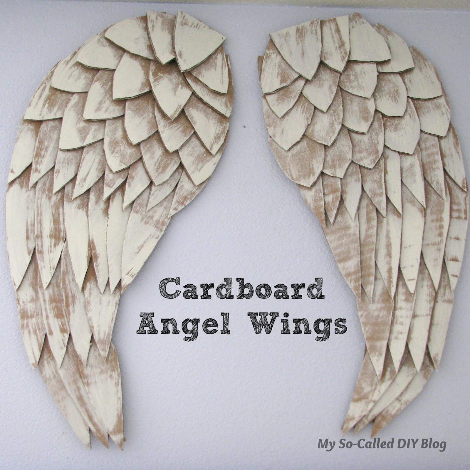 Как сделать крылья ангелов своими руками 7