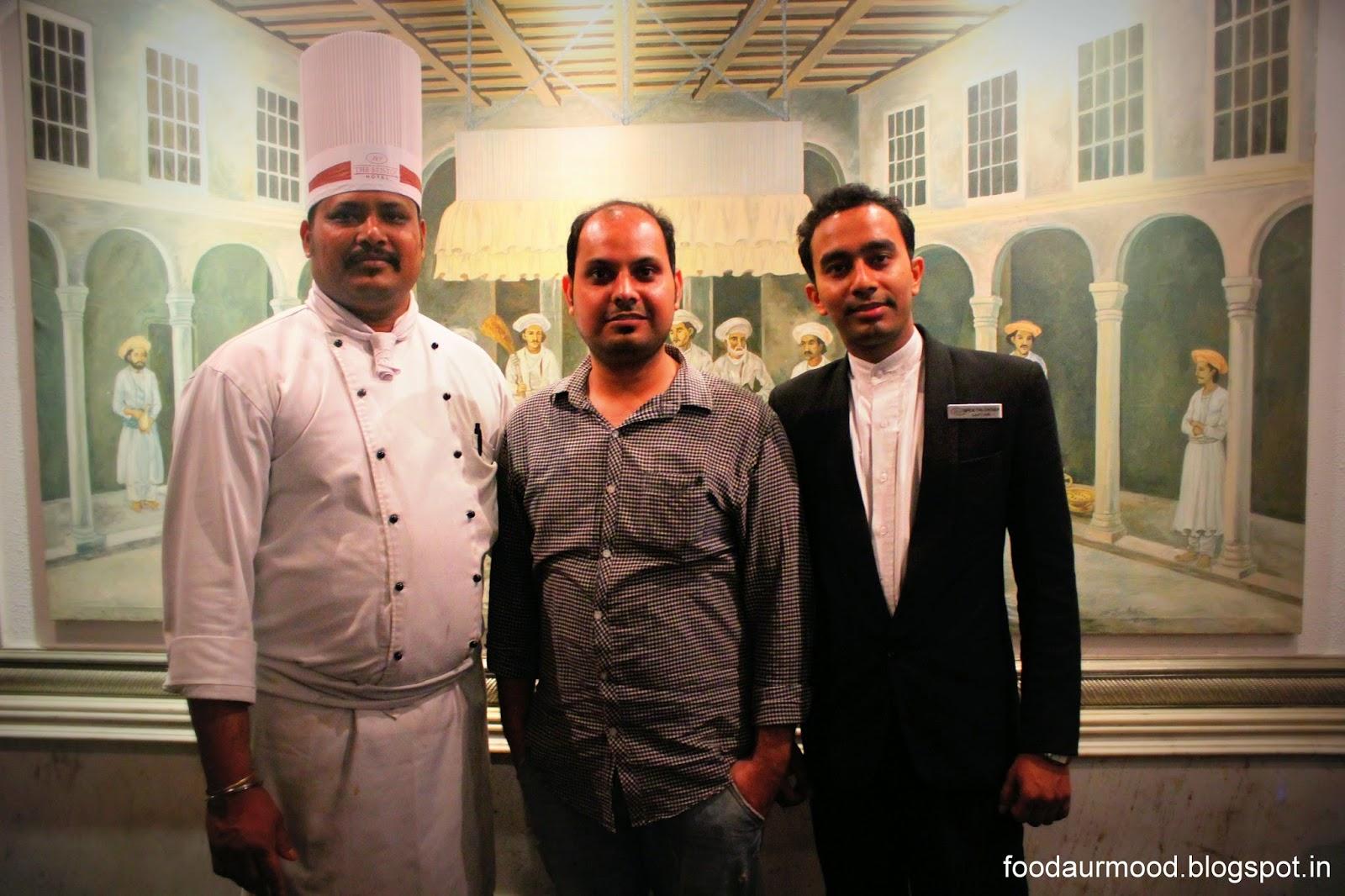 Chef Amia Das, foodaurmood varun saklani The Luscious Mughlai,Lucknowi food @ zaffran The Bristol Hotel, Gurgaon