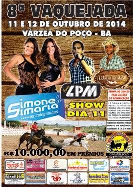 8ª Vaquejada - Parque Aristides Rios - Várzea do Poço.