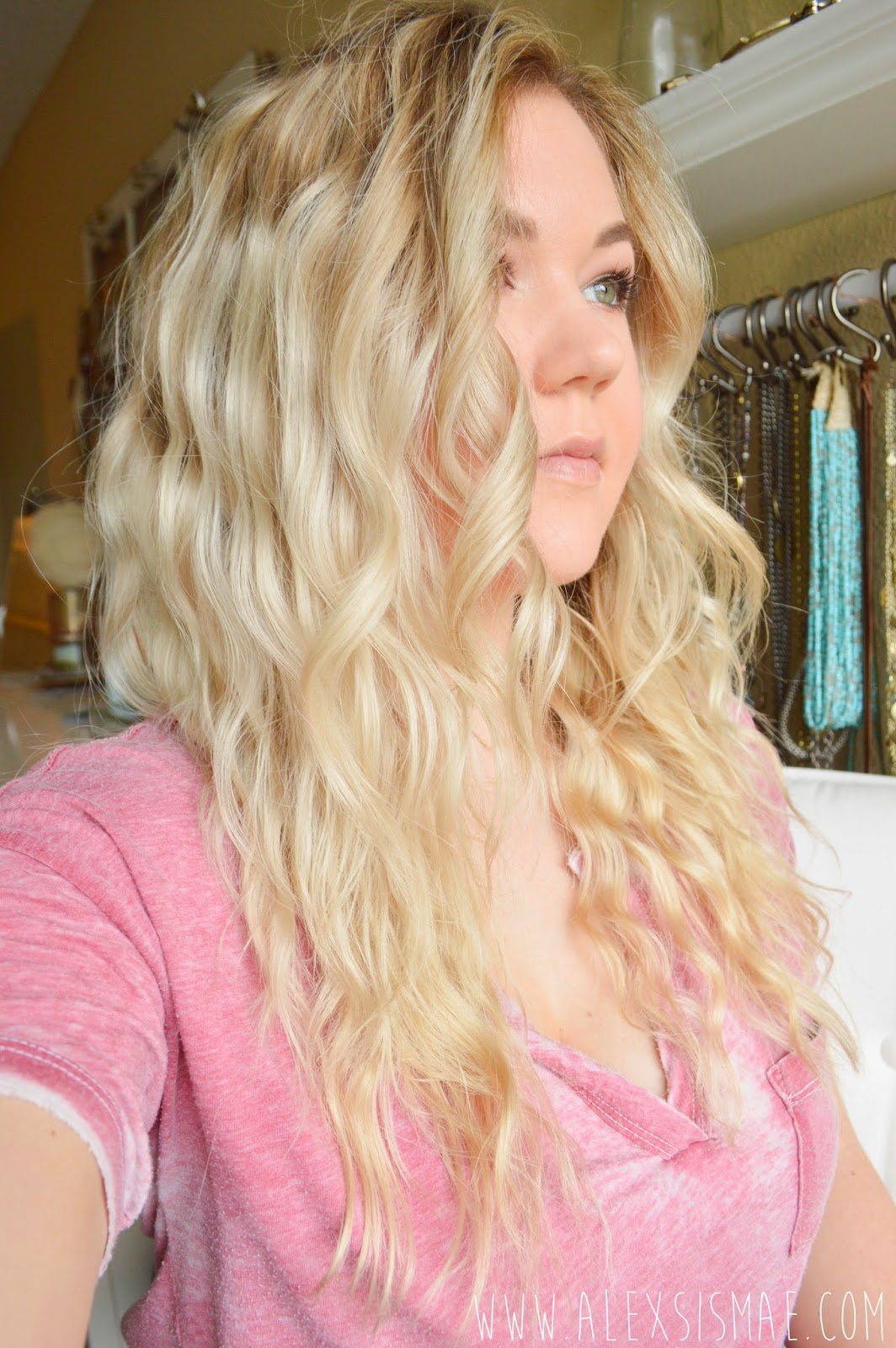 Alexsis mae natural overnight beach waves no heat required
