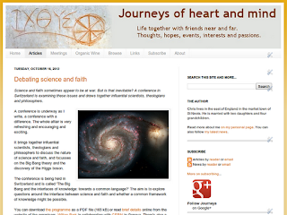 The Journeys blog in October 2012