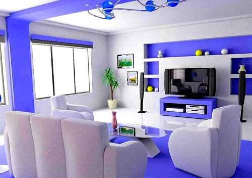 Living Room Paint Design Part 66