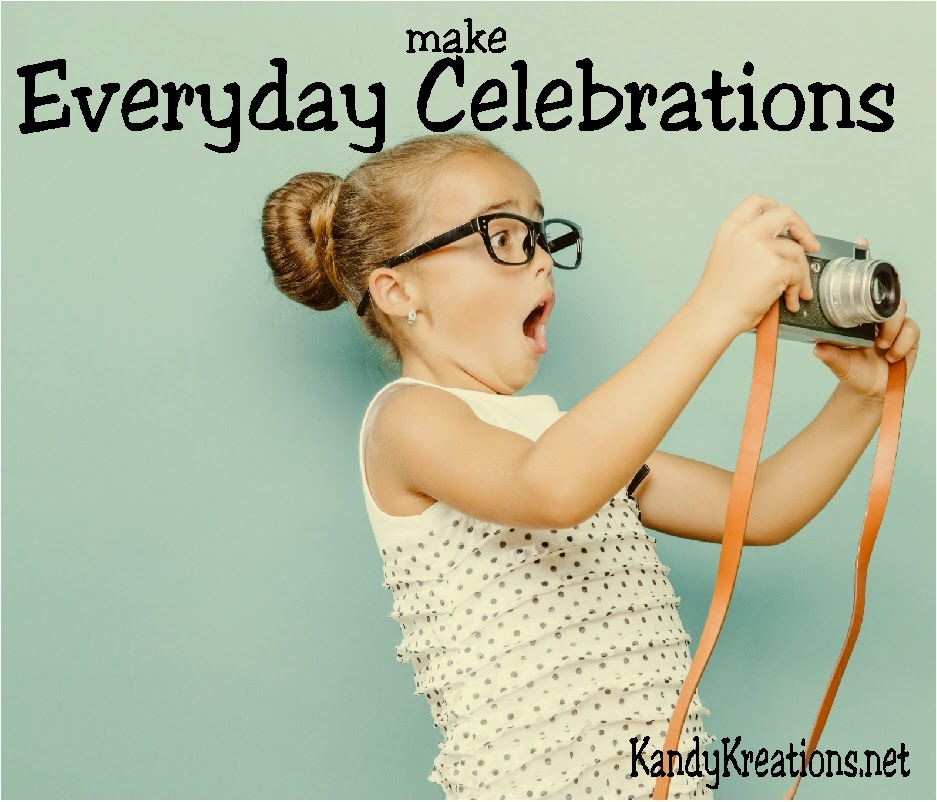 Make and remember the Everyday Celebrations in your family with a fun photo a day calendar. This calendar will help you find the special moments in your life that you'll be glad you captured in ten years!