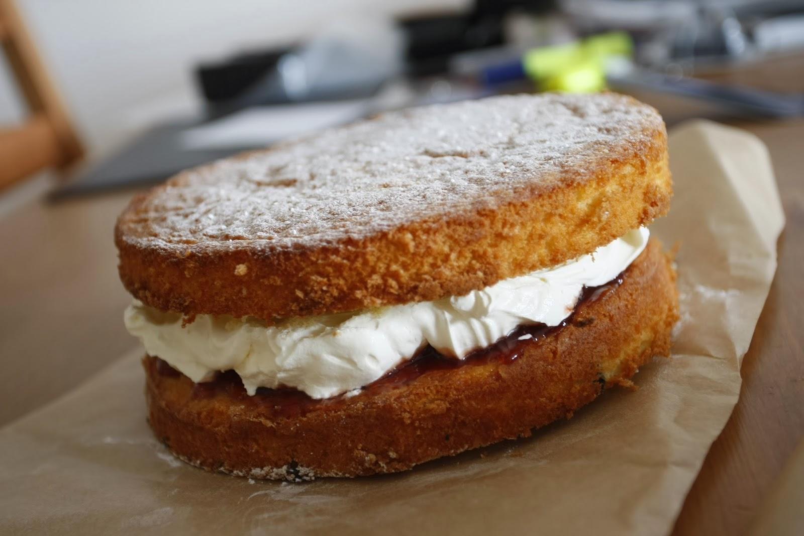 Sponge Cake Vs Regular Cake