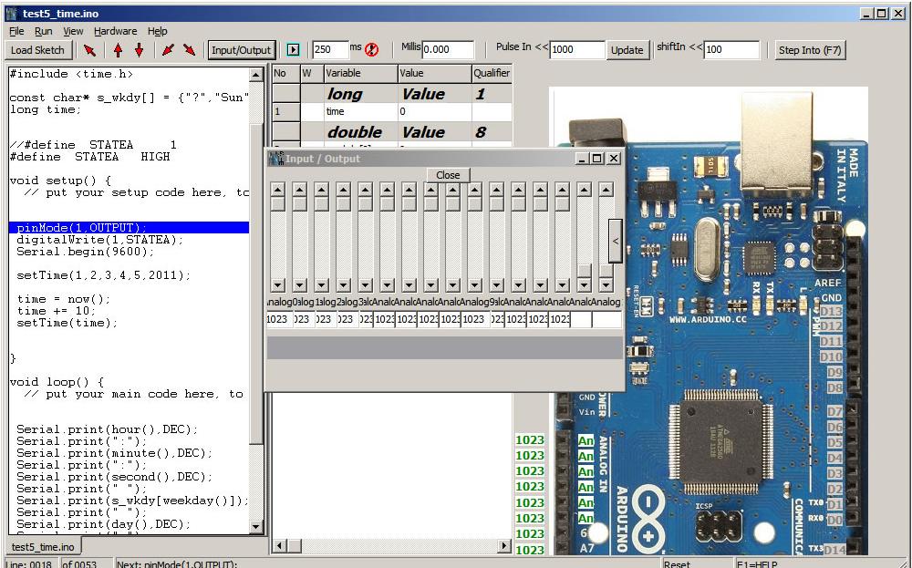 Learning arduino and electronics simulators