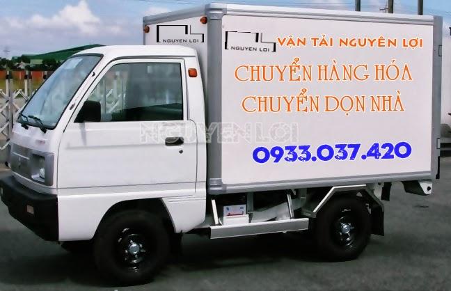 Cho thue xe tai 500kg thung kin cho hang