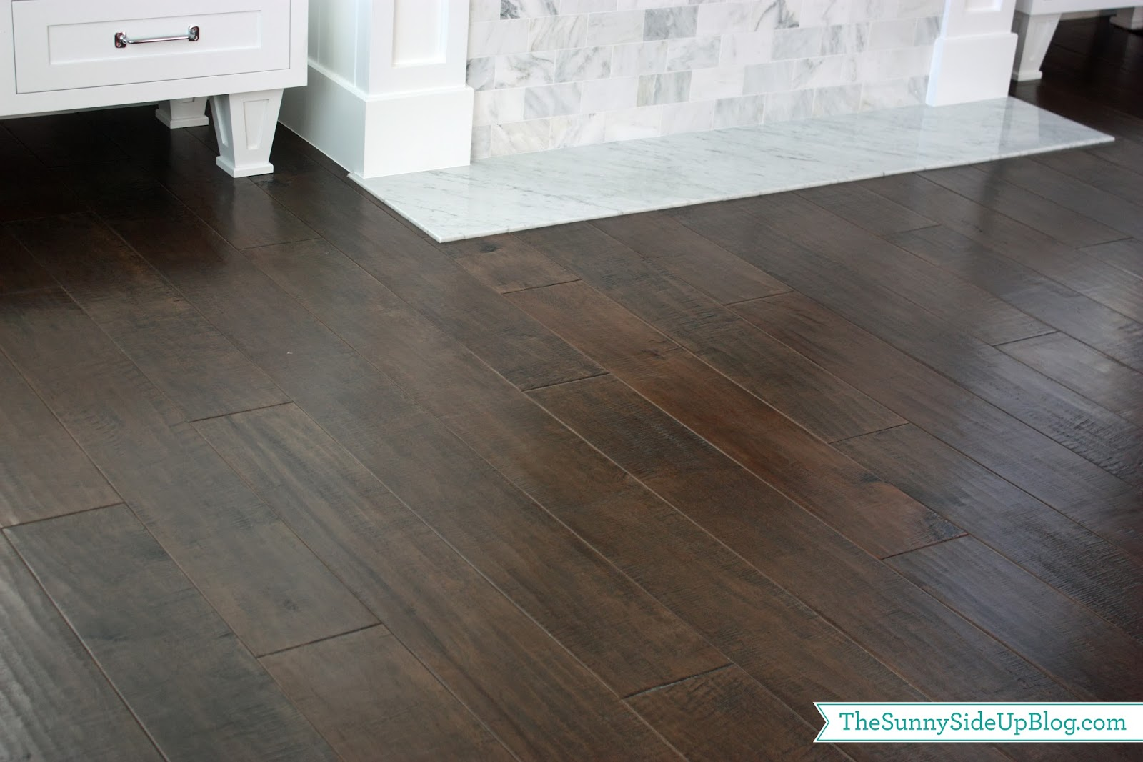 Hardwood flooring the sunny side up blog for Dark hardwood floors