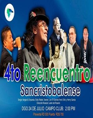 4to. Reencuentro Sancristobalense