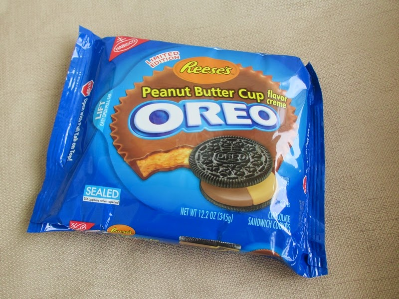 Package of Reese's Peanut Butter Cup Oreos
