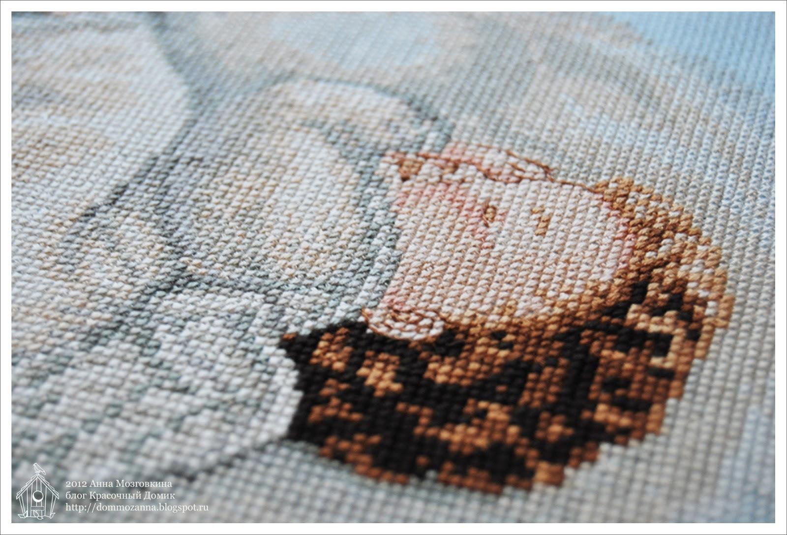 РТО спящий ангел вышивка рестом