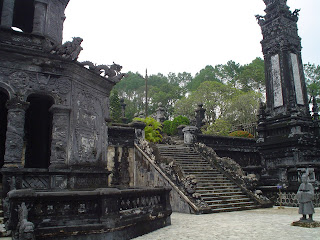 Imperial Tomb of Emperor Khai Dinh in Hue - Vietnam