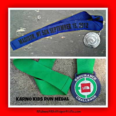 2012 TNF ECS Madison Finishers Medals