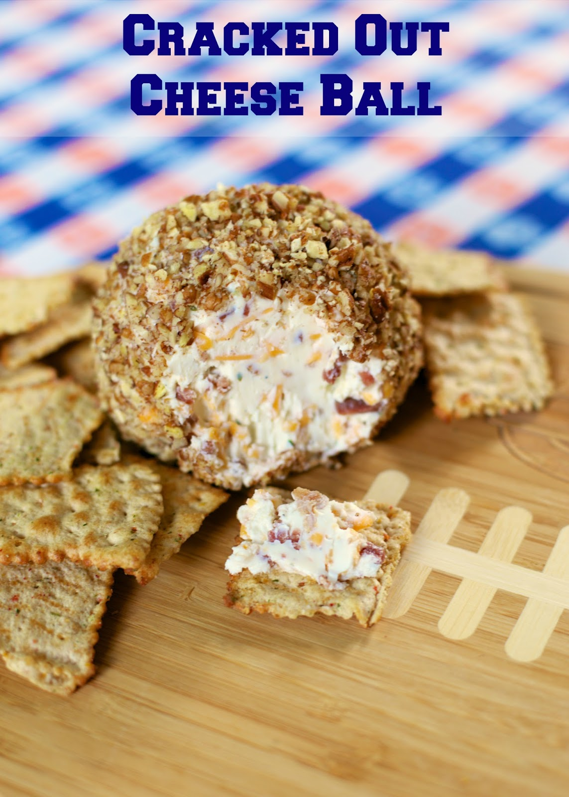 Cracked Out Cheese Ball {Football Friday} | Plain Chicken