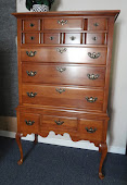 Beautiful Cherry Highboy