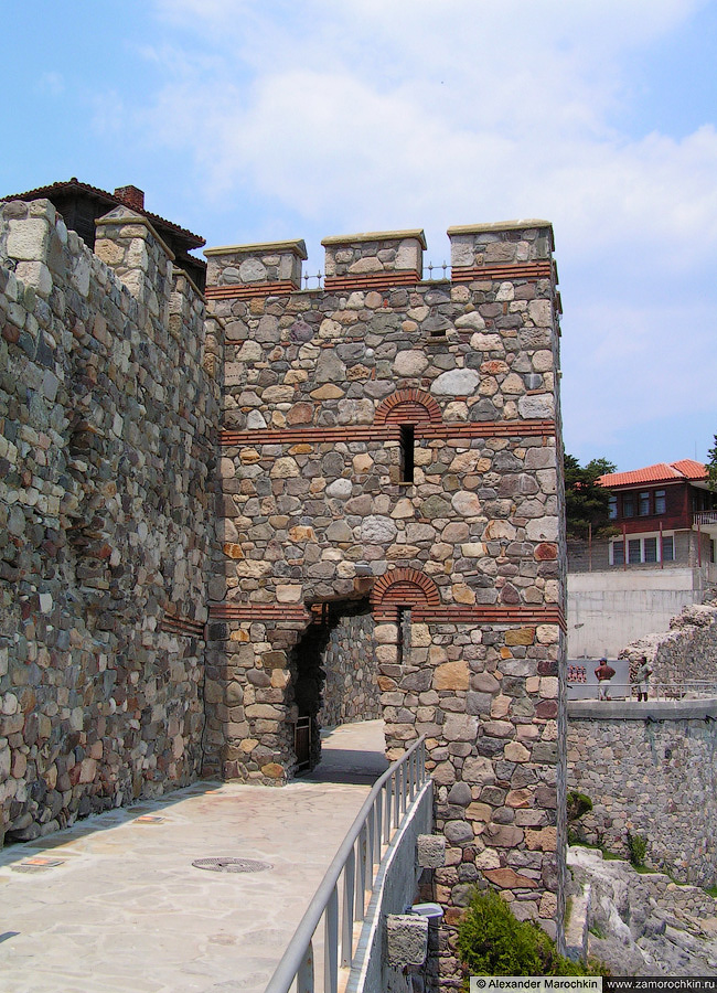 Башня южной крепостной стены Созополя | The tower of the south fortress wall of Sozopol