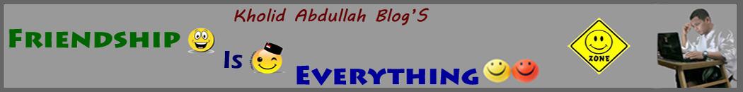 Kholid Abdullah Blog's