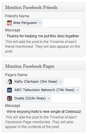 Facebook Mentions On Wordpress