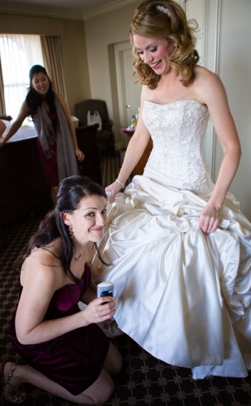 Stress after wedding