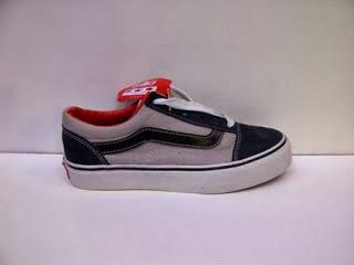 Sepatu Vans Old Shcool Import abu