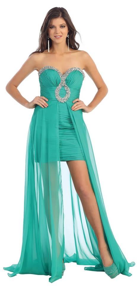 Impresionantes vestidos elegantes