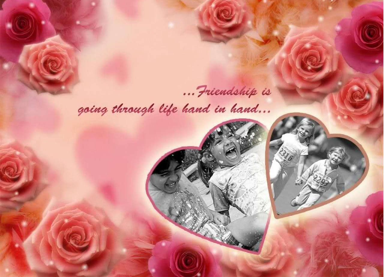 Beautiful Rose Flowers With Friendship Quotes Beautiful Flowers