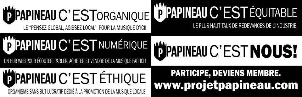 Plateforme québécoise indépendante d'écoute musicale et de téléchargement en ligne