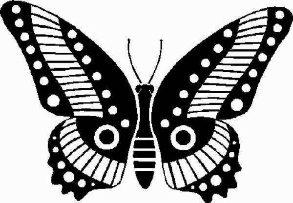 Шаблоны бабочек своими руками