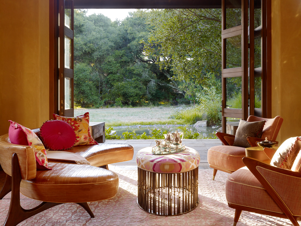 seventies inspired home luxury