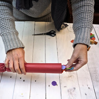 tuto Christmas Crackers diy, tutoriel, Noël