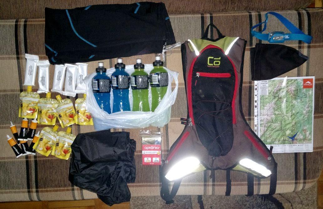 Echipamentul de alergare obligatoriu pentru Ultramaraton Ciucaş X3